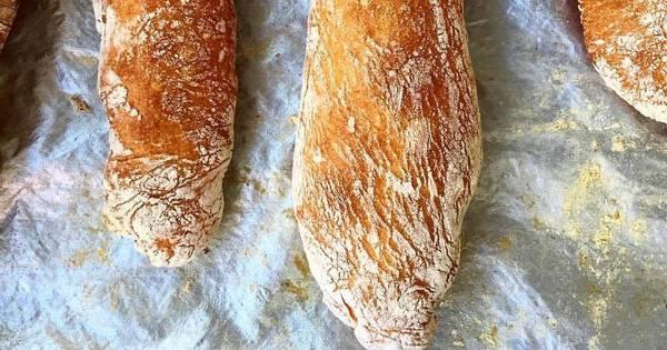 Pães Caseiros com Fermento Natural