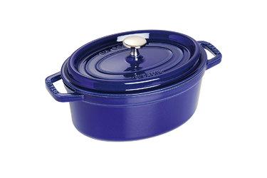 Staub - Caçarola Oval 31cm - Azul Marinho