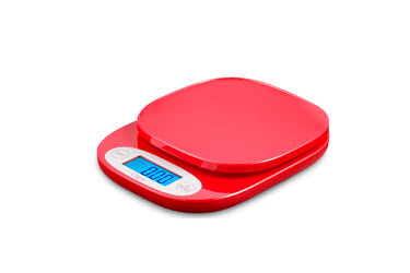 Ozeri Balança Digital Vermelha ZK420