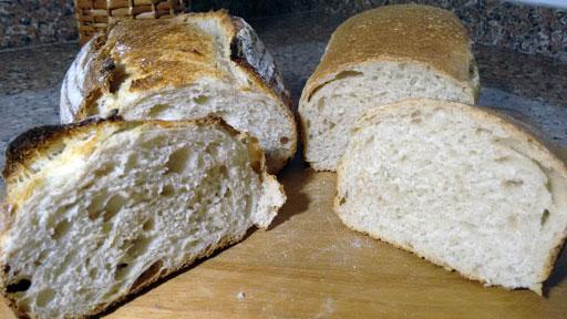 Panela de ferro para assar pães